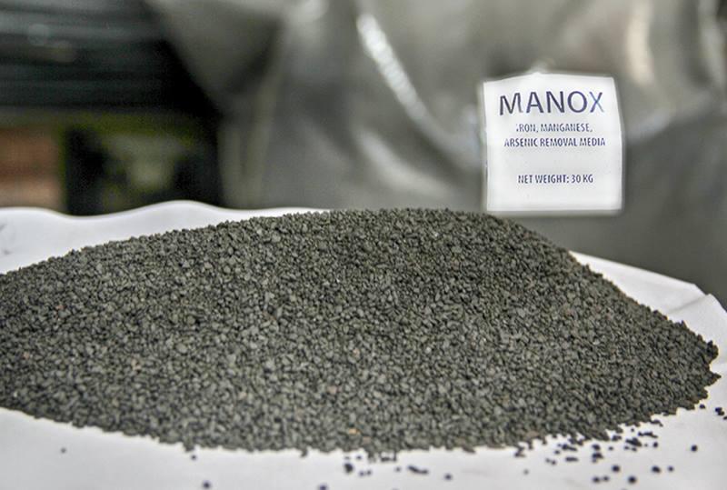 Katalitik Mangandioksit Mineralimiz Manox ile Yüksek Demir, Mangan, Arsenik Giderimi