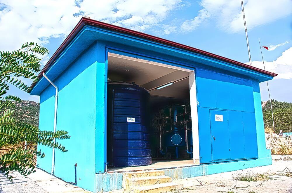 BASKİ 7 Mahallede Arsenik Arıtma Tesisi Yapımı