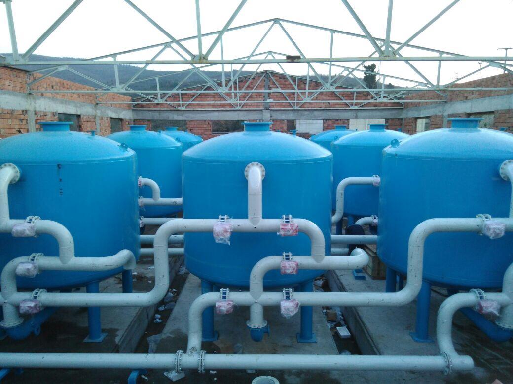 BUSKİ Nilüfer Çınarcık İçme Suyu Arıtma Tesisi Yapımı
